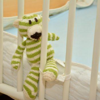 Das Kind schläft nicht im eigenen Bett